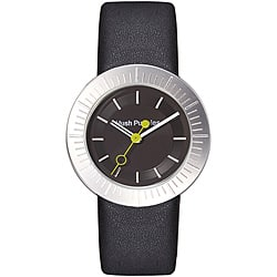 Hush Puppies Women's Black Dial Leather Strap Watch https://ak1.ostkcdn.com/images/products/P14020325.jpg?impolicy=medium