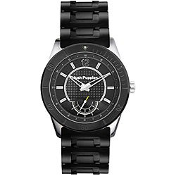 Hush Puppies Men's Black Stainless Steel Watch