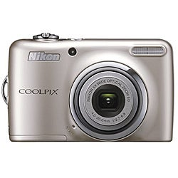 Nikon Coolpix L23 10MP Silver Digital Camera