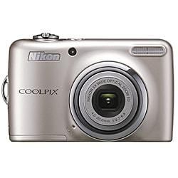 Nikon Coolpix L23 10MP Silver Digital Camera