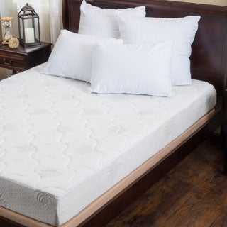 Christopher Knight Home Aloe Gel Memory Foam 8-inch Queen-size Smooth Top Mattress