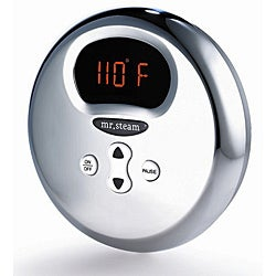Mr. Steam Round Chrome Temperature Control