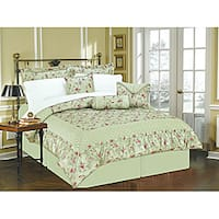 Enchanted Garden 11-Piece Queen-size Bed in a Bag with Sheet Set