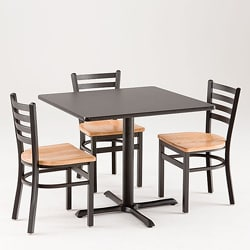 Cambridge 5-piece Commercial Dining Set