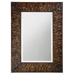 Shop Thatcher Brown Metal Mirror Overstock 6437484