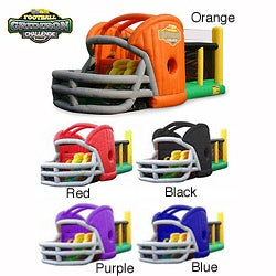 KidWise Gridiron Football Challenge Game Day Commercial Bounce House