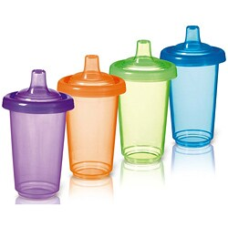 Munchkin Twist Tight Reusable Spill-Proof Cups (Pack of 4)