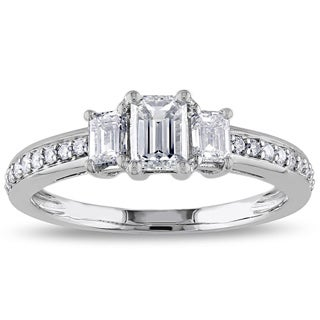 Miadora Signature Collection 14k White Gold 1ct TDW Diamond Ring (G-H, I1 I2)