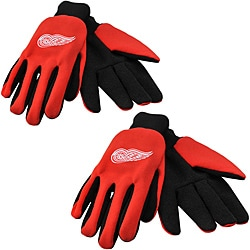 Detroit Red Wings Two-tone Gloves Set (Set of 2)