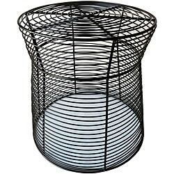 16-inch Metal Wire Side Stool/Table