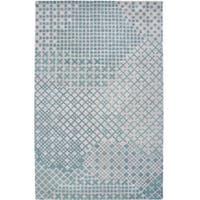 Hand-tufted Averlo Light Grey Area Rug (9' x 12') - 9' x 12'
