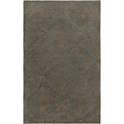 Hand-tufted Averlo Light Gray Rug (9' x 12') - Thumbnail 0