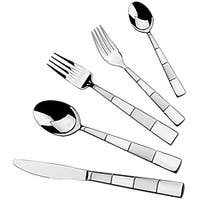Lorren Home Trends  Retro Matte 18/10 20 piece flatware set