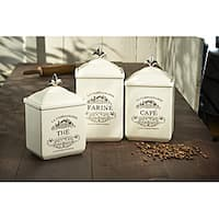 American Atelier Maison 3-piece Canister Set