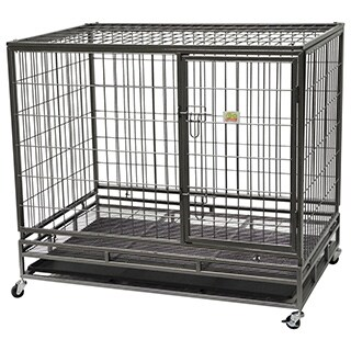 Go Pet Club Heavy-Duty Metal Wire Pet Cage