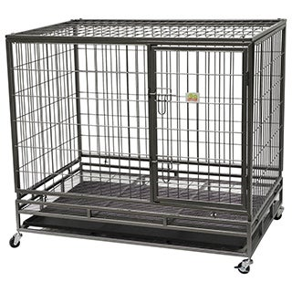 Go Pet Club Heavy-Duty Metal Pet Cage