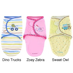 Summer Infant Small Applique Cotton SwaddleMe Blanket