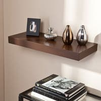 Clay Alder Home Sorlie Tampa 24-inch Espresso Floating Shelf