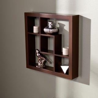 Harper Blvd Carrington Espresso 16-inch Display Shelf