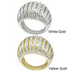 De Buman 18k Gold 1 1/3ct TDW Diamond Ring (G-H,VS1)
