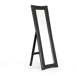 Shop Hurst Dark Brown Modern Mirror With Built In Stand