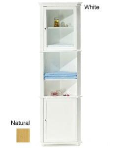 hampton bay corner linen cabinet 2 finishes thumbnail 0 - Corner Linen Cabinet