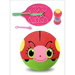 Melissa & Doug Sunny Patch Girl's Kickball and Bubbles Set