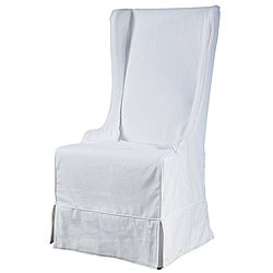 Atlantic Beach Sun Bleached White Wing Dining Chair