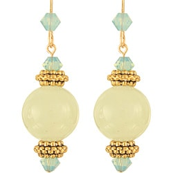 Lime Drop Earrings