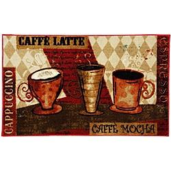 Elegant Mohawk Home Jazzy Coffee Red Kitchen Rug (1u00278 X 3u00279)