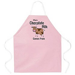 Attitude Aprons 'Chocolate Milk Attitude' Apron