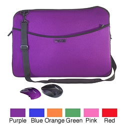 PC Treasures SlipIt Pro 17-inch Reversible Bag/ Targus Mouse