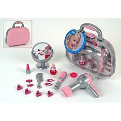 Theo Klein Braun Kids' Pink/Gray Dress-up Accessories Beauty Case