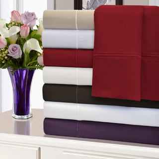 Superior Solid Marrow Stitch 1500 Thread Count All Cotton Sheet Set