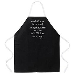 Attitude Aprons 'My Mom is the Best Cook' Apron