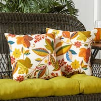 Greendale Home Fashions Esprit Outdoor Accent Pillow, Set of 2 - 17w x 17l