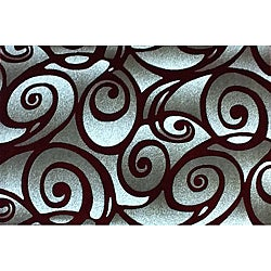 Generations Red Clave Rug (3'9 x 5'1)