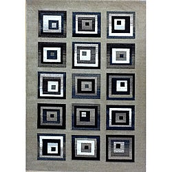 Generations Champagne Blocks Rug - 3'9 x 5'1 - Thumbnail 0