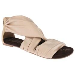 d752e97beb9 Elegant beston women perry nude fabric gladiator jpg 250x250 Fabric  gladiator sandals