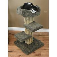 New Cat Condos Wood/Carpet Cat Play Tree