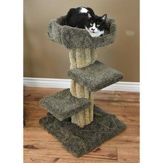 New Cat Condos Wood/Carpet Cat Play Tree