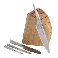 Chroma Type 301 Porsche 5-piece Knife Block Set