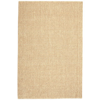 Jani Lhasa Ribbed Loop Wool and Jute Rug (5' x 8')
