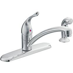6 inch centerset bathroom faucet. Moen 67430 Chateau One Handle Low Arc Kitchen Faucet Chrome Centerset  5 to 6 Inches Faucets Shop The Best Deals for