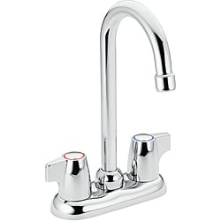 Moen 4903 Chateau Two-Handle Bar Faucet Chrome