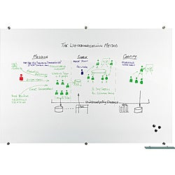 Best-Rite Visionary Magnetic Glass Dry Erase Board