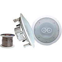 Pyle Pair of 5.25 In-Ceiling Speakers with 100' Wire