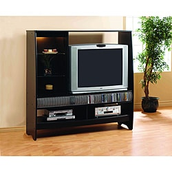 Black 36-inch Entertainment Center