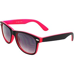 Unisex Women's Black/ Pink Sunglasses
