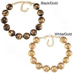 Kenneth Jay Lane Goldtone Bead Necklace